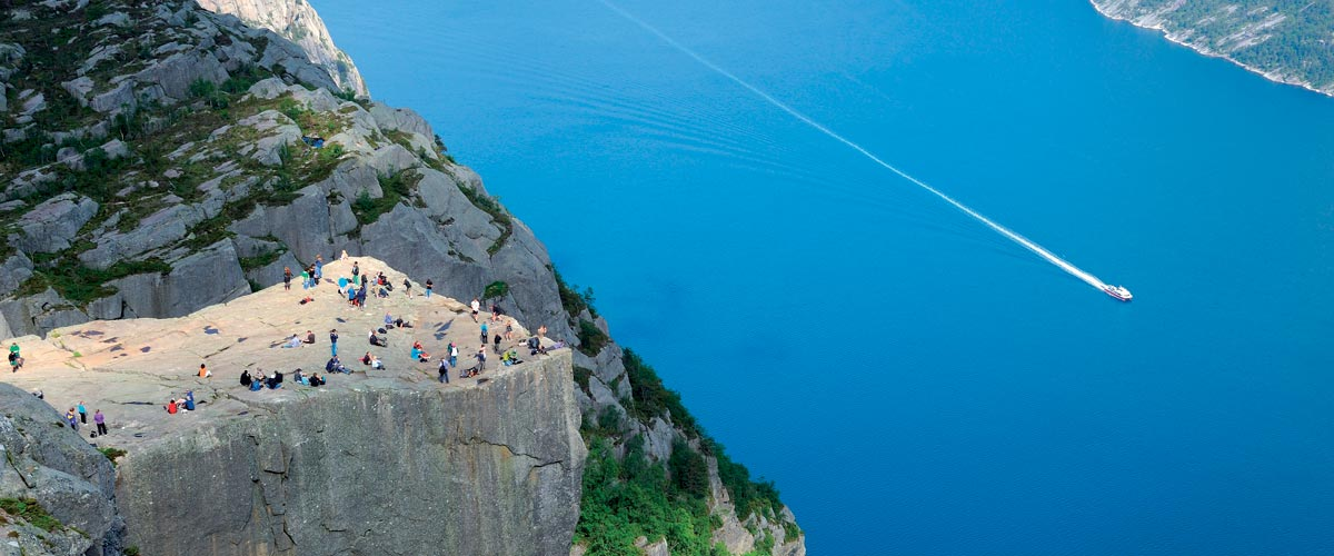 Pulpit Rock, Lysefjord, Norway