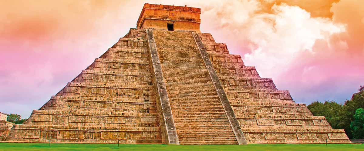 Temple of Kukulcan, Chichen Itza, Mexico