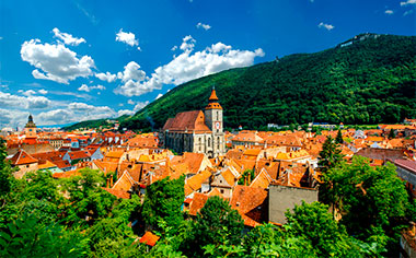 Brasov and its Black Cathedral