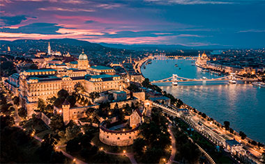 Budapest and the River Danube, Hungary
