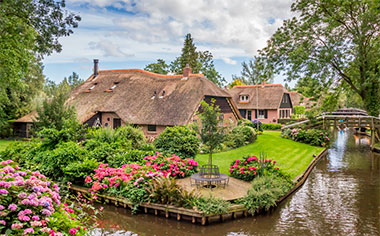 Pretty Giethoorn, The Netherlands