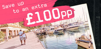 Save up to an extra £100 per person