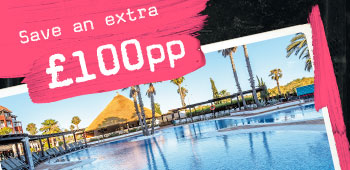 Save an extra £100 per persons