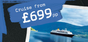 Cruise from £699pp