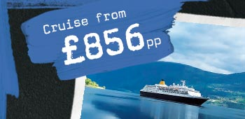 Cruise from £856 per person
