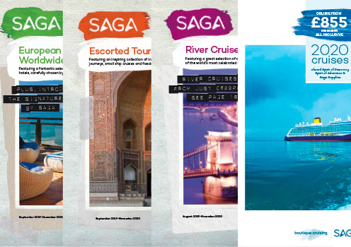 Covers for our latest brochures