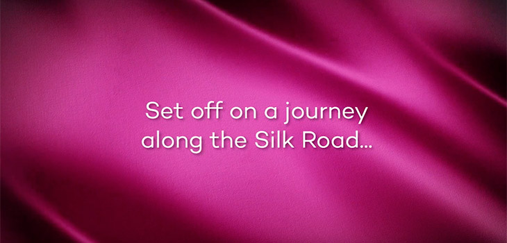 Set off on a journey along the Silk Road