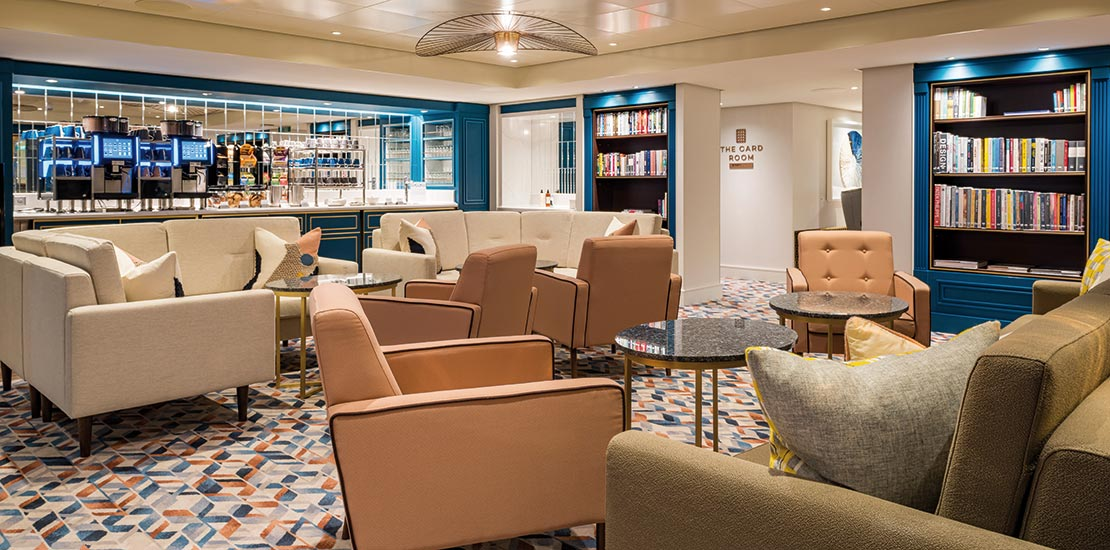 The Library is a tradition onboard Saga ships
