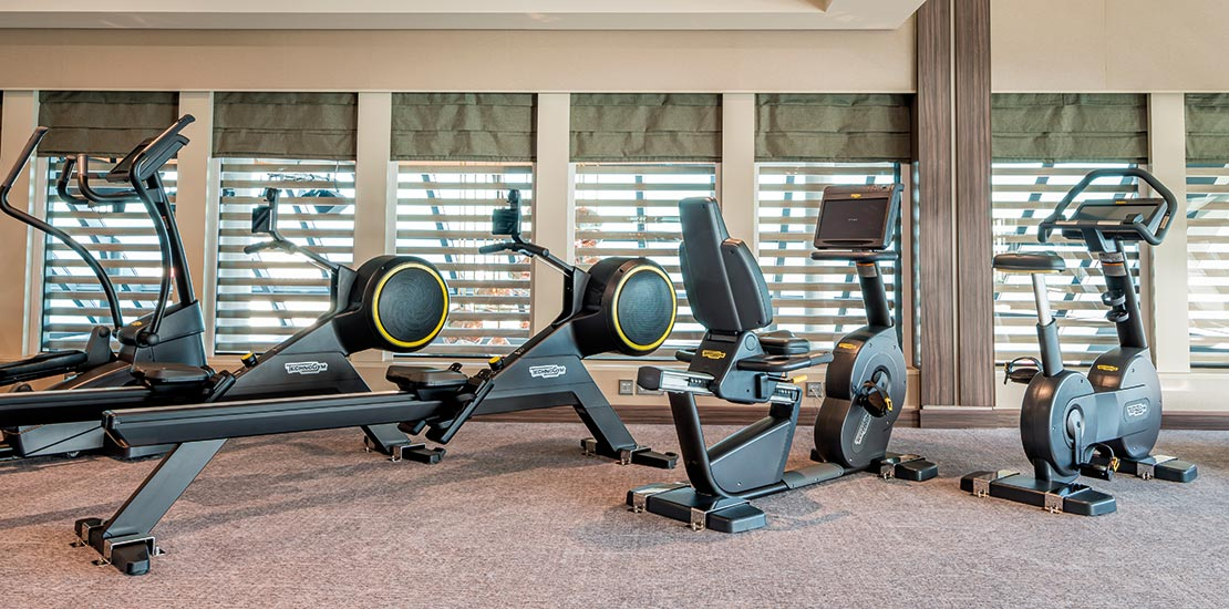 All the equipment you need to get active throughout your cruise