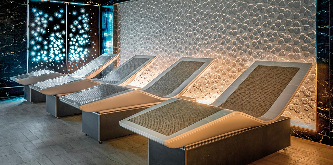 The thermal spa beds