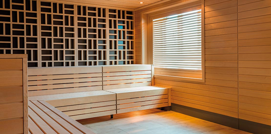 Re-energise in the steam room