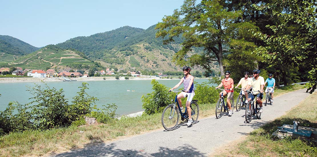 Enjoy a cycle excursion along the AmaWaterways on the Danube