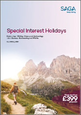 Special Interest Holidays Mar 18-Apr1 19