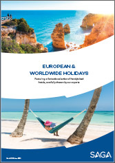 European and Worldwide holidays March 2020-June 2021 brochure cover