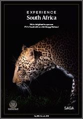 Experience South Africa brochure cover