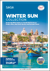 Winter Sun Collection brochure cover