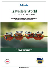 Travellers World 2022 Collection brochure cover
