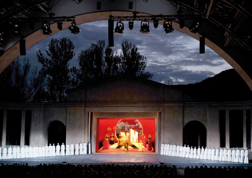 The magnificent stage for Oberammergau