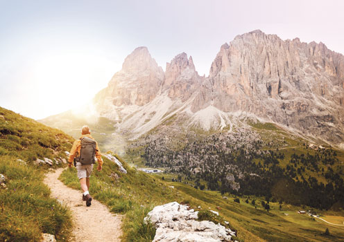 Hike through Italy's dramatic landscapes