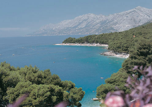 The beautiful Makarska Riviera, Croatia