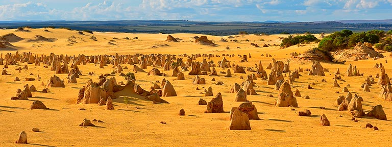 Pinnacles Desert in Nambung National Park