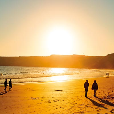 A sunny evening in Sagres, Algarve