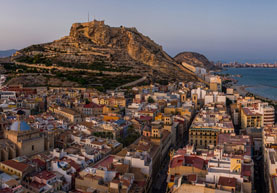 View of Alicante