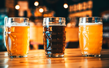 Sample a selection of beers