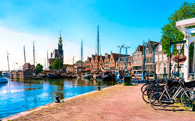 Harbour of Hoorn, Netherlands