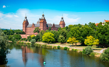 Johannisburg Castle, Aschaffenburg, Germany