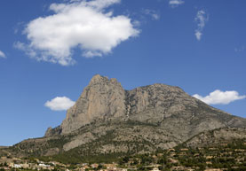 Puig Campana mountain, Finestrat