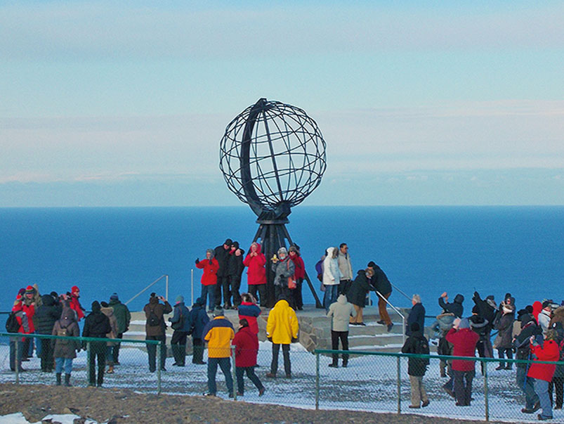 The North Cape: Mainland Europe's most northerly point