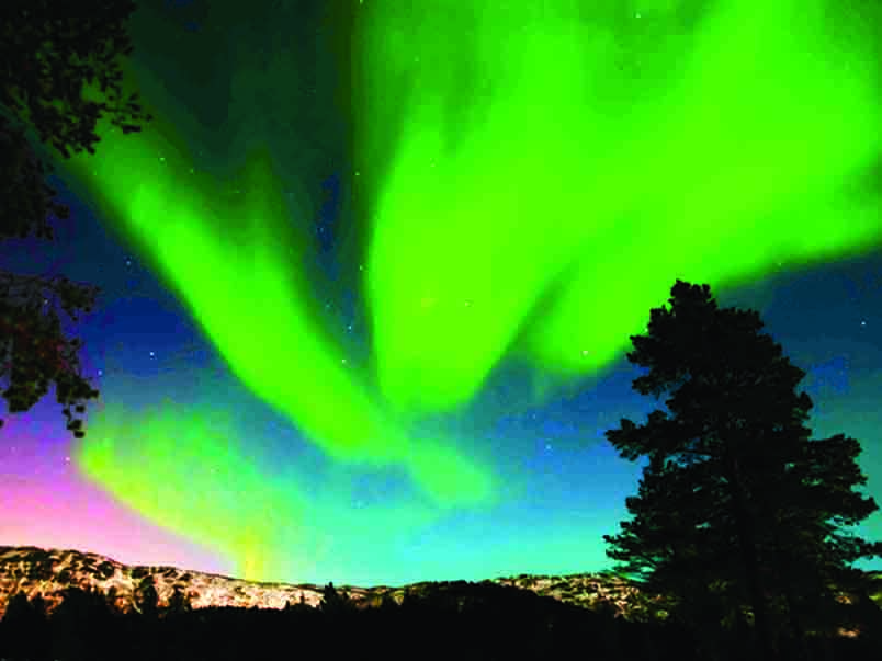Marvel at the Northern Lights