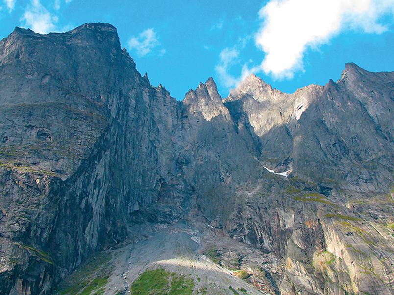 The Troll Wall: Europe's highest perpendicular rock face