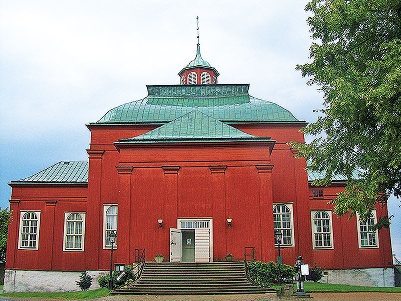 The Admiralty Church in Karlskrona
