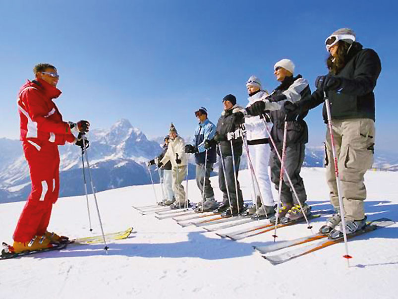 Why not join skiing for beginners from Narvik?