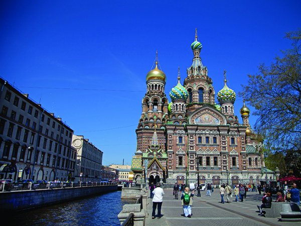 Griboedov Canal and Spilled Blood Cathedral