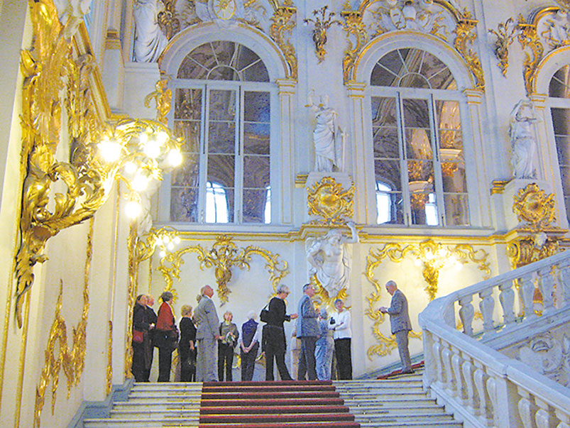 Enjoy the Hermitage when the public has gone home