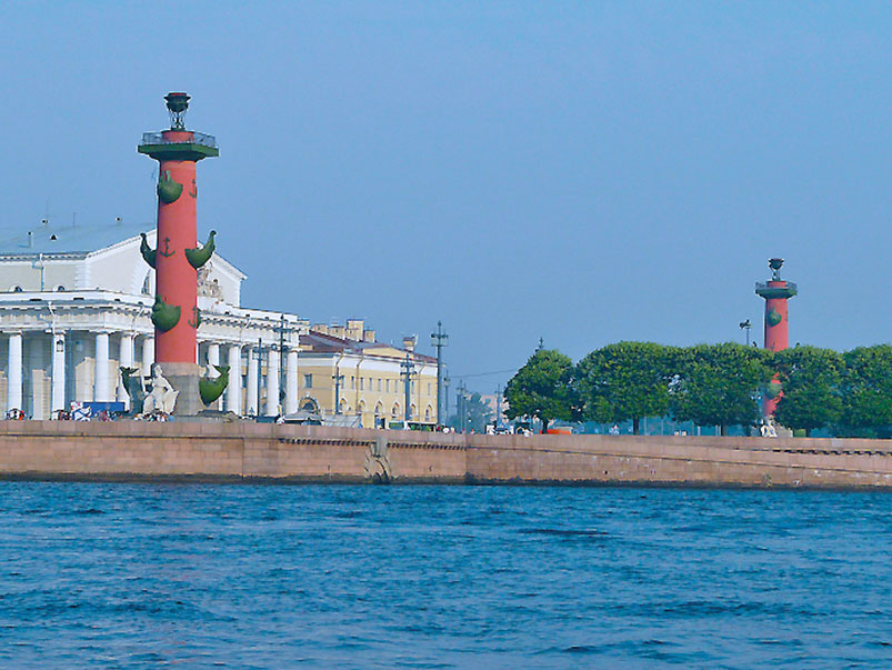 The Stock Exchange and Rostral Columns
