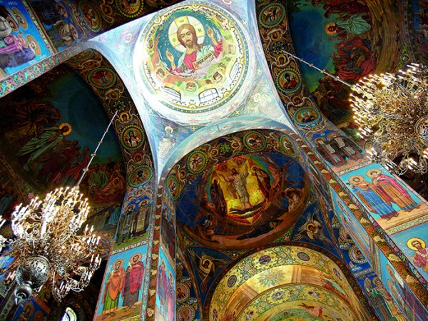 Inside the Spilled Blood Cathedral