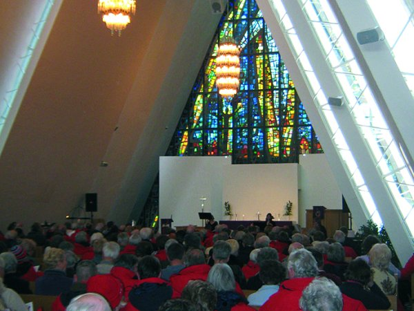 Enjoy a concert in Tromsø's Arctic Cathedral