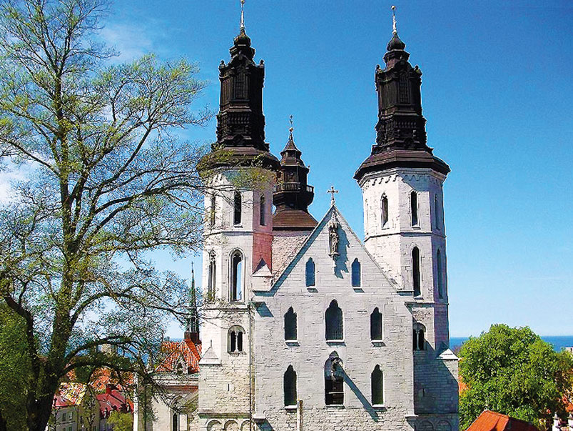 St Mary's Cathedral in Visby