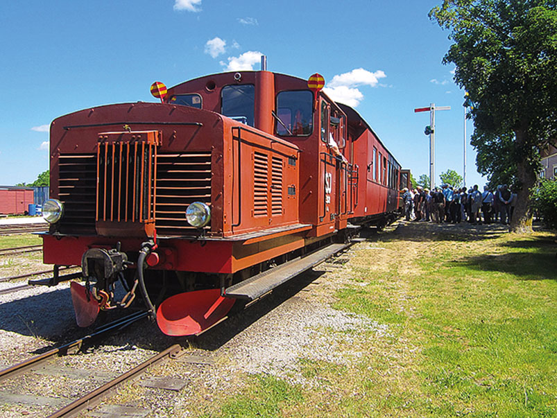 Take a scenic ride on the Gotland Railway